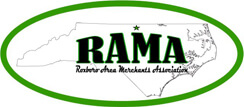 Roxboro Area Merchants Association Logo